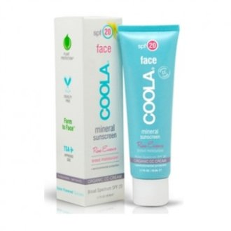 Coola Mineral Face Spf20 Lotion Rose Essence