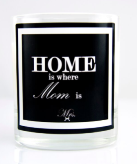 Mrs. Design Home Is Where Mom Is Candle