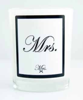 Mrs. Design Mrs. Candle