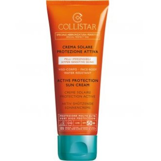 Collistar Active Protection Sun Cream Face Body Spf 50+ 100m