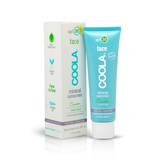 Coola Mineral Face SPF30 Matte Finish Cucumber