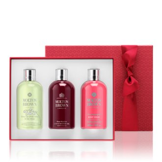 Molton Brown Divine Moments Bathing Gift Set Women 3x300ml