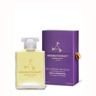 Aromatherapy De-Stress Muscle Bath & Shower Oil