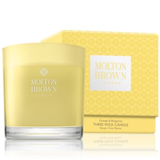 Molton Brown Orange & Bergamot Three Wick Candle