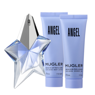Thierry Mugler Angel Edp 50 ML + Bodylotion 100 ML + Showergel 30 ML