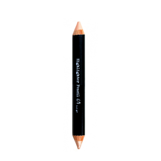 The BrowGal - Highlighter Pencil 01-Cherub (matte) - Champagne (shine)