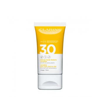 Clarins Sun Protection Invisible Sun Care Face Gel-to-oil SPF 30