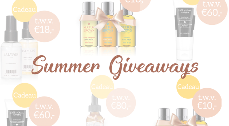 Summer Giveaways by MYSC